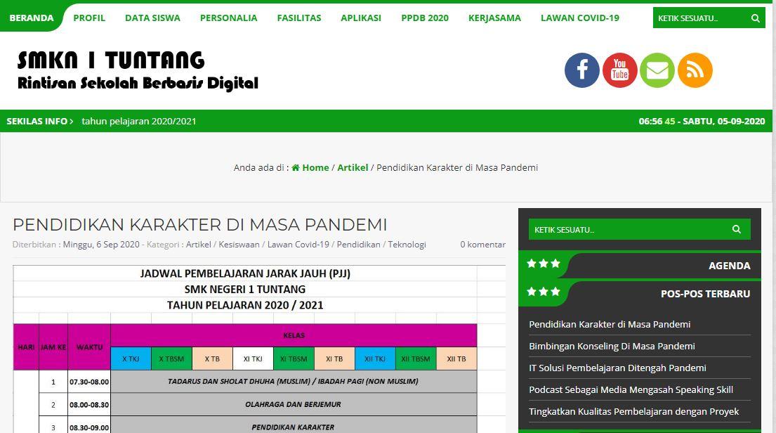 Branding Sekolah dengan Website