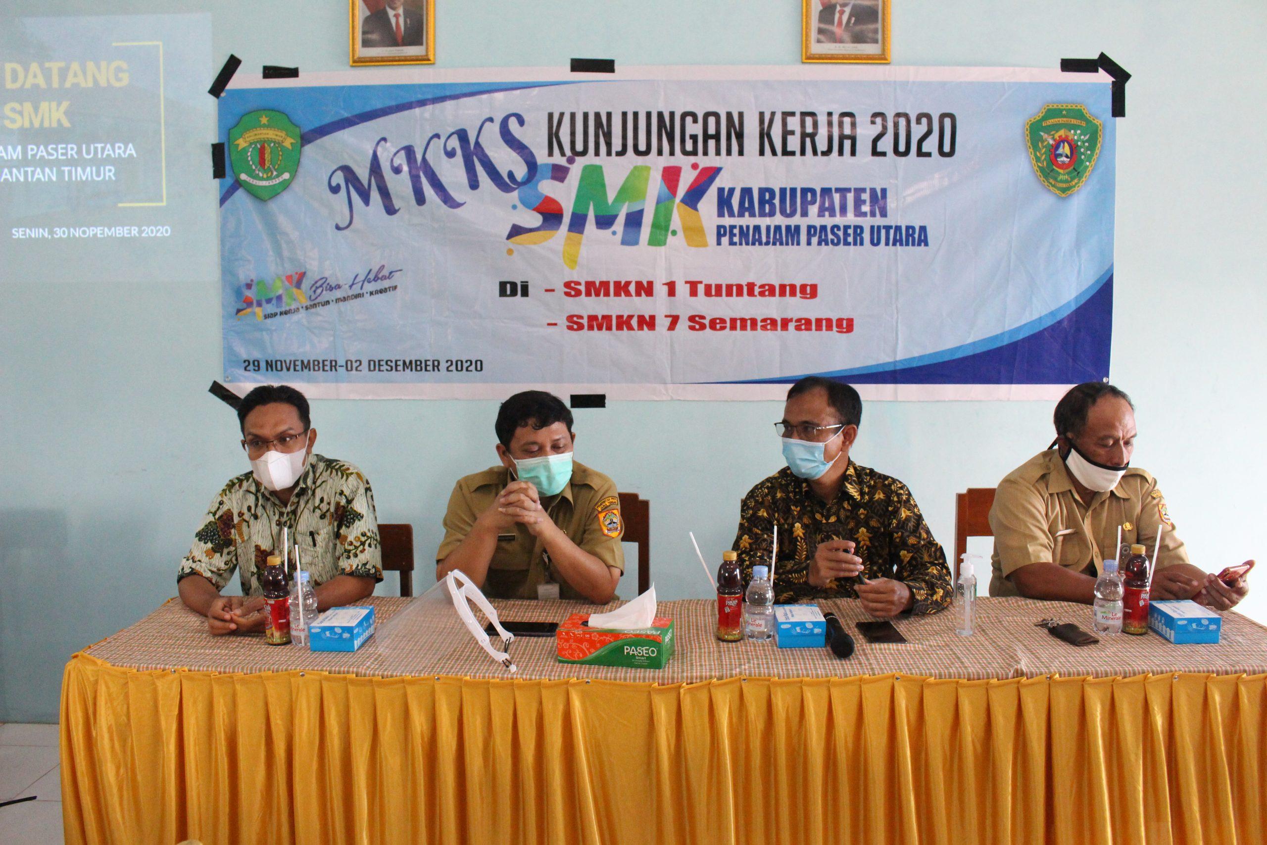 Studi Tiru Kepsek Kalimantan Timur, Salut Perkembangan SMK 1 TUNTANG