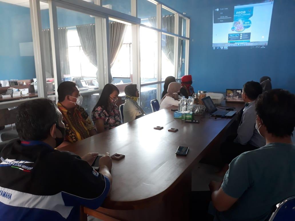 SMKN 1 Tuntang Meluncurkan SIM Kinerja
