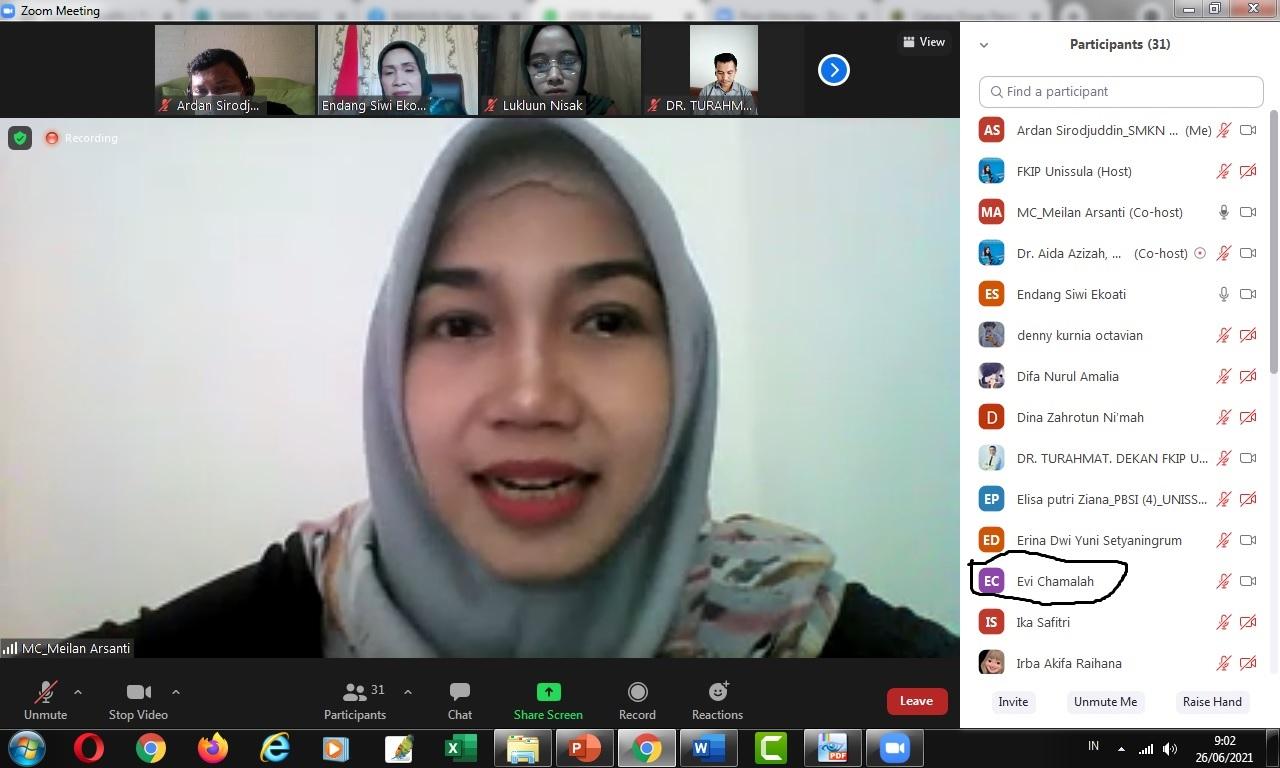 Prodi Bahasa Indonesia Unissula